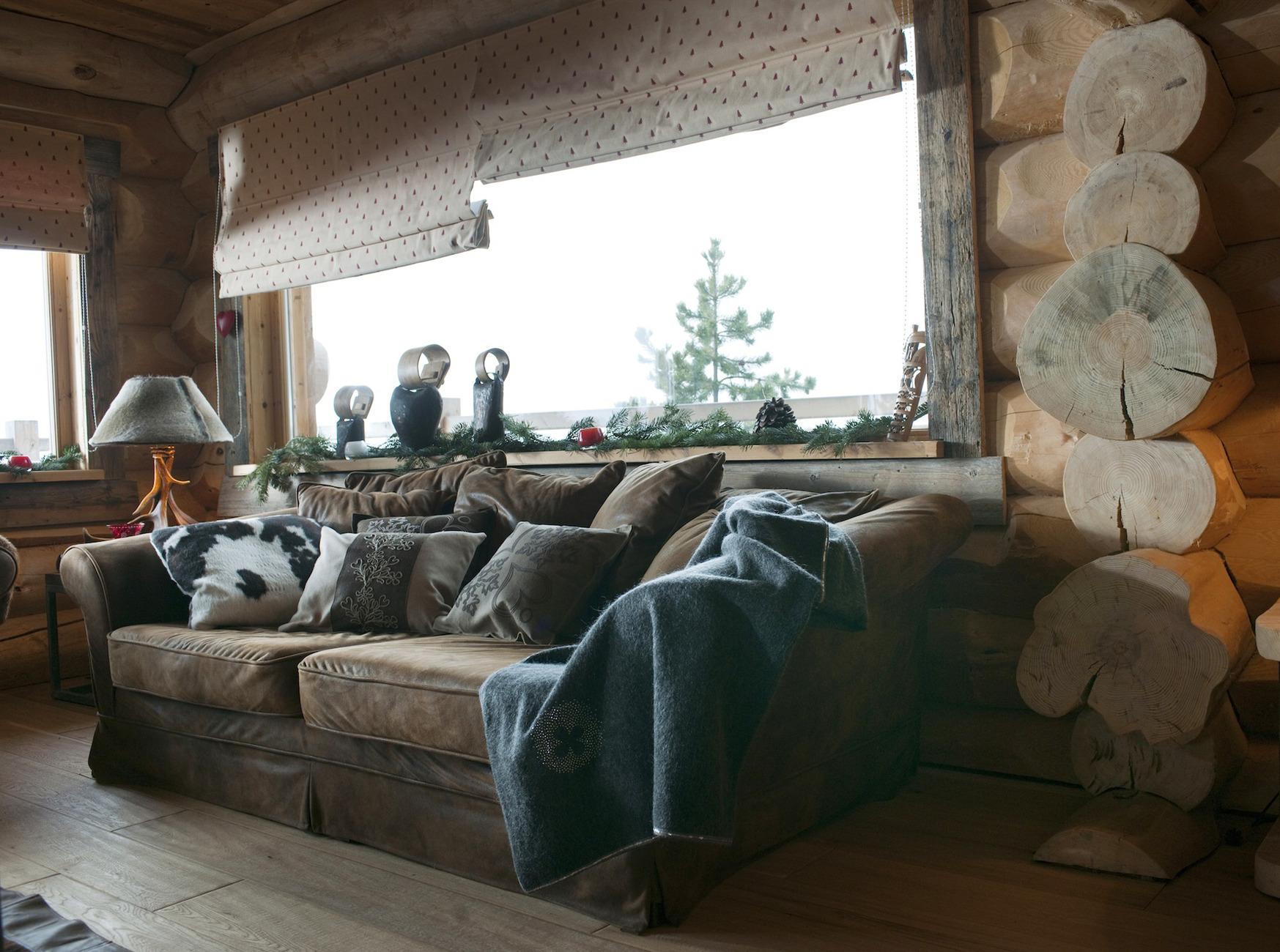 canap chalet de montagne conception carte lectronique. Black Bedroom Furniture Sets. Home Design Ideas