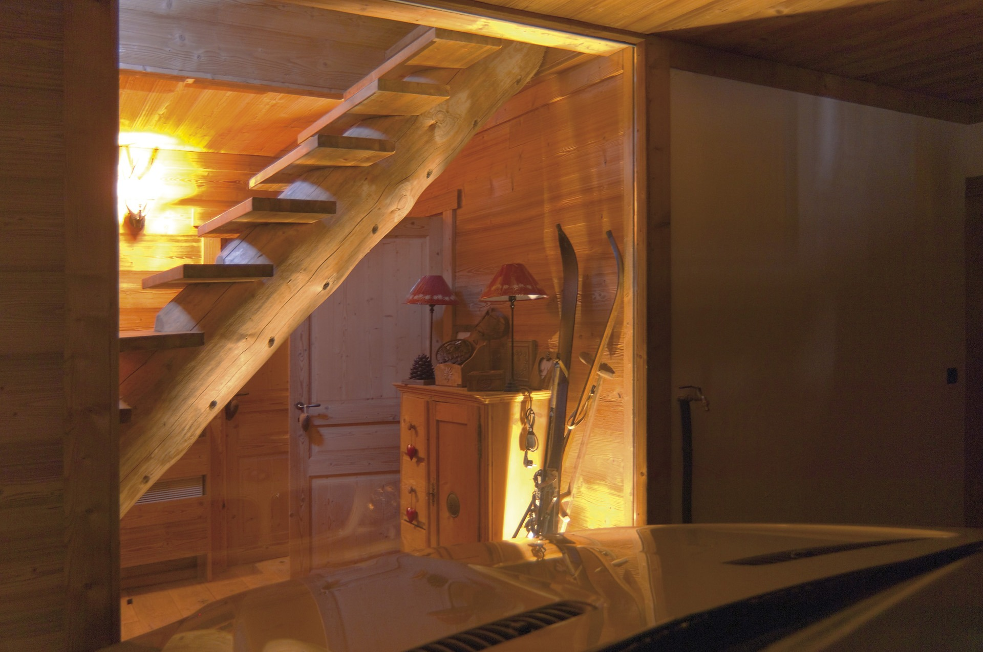 Pin le cerf on pinterest for Petit escalier en bois